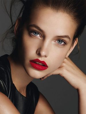 Red Lip Look #1
