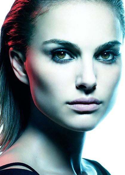 Natalie Portman by Raymond Meier  Butterfly Lighting