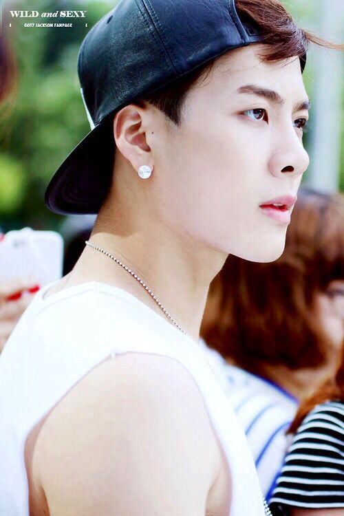 GOT7 Jackson Wang. At first glance I thought this was Sehun of Exo xD