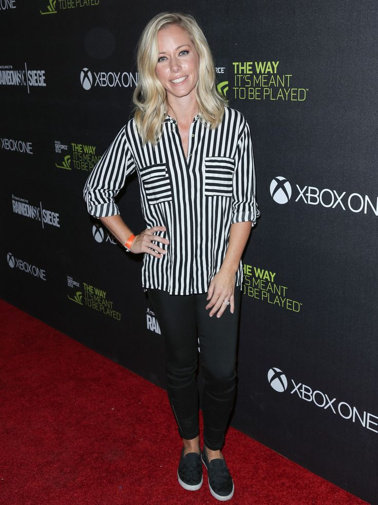 Kendra Wilkinson is seen attending Ubisoft's 'Rainbow Six Siege' launch party .