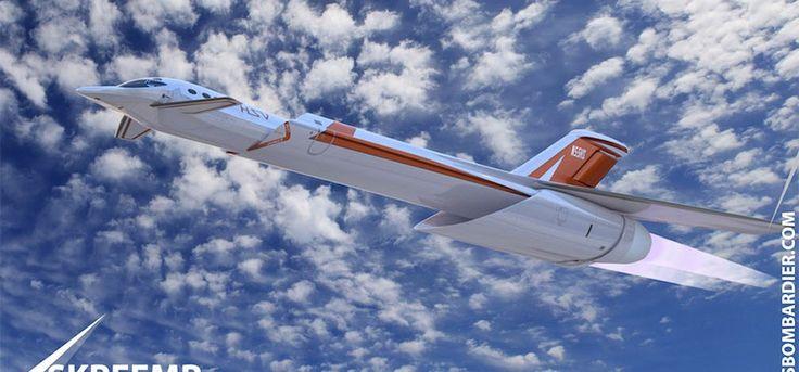 """""""Skreemr"""" el avión que volara a 10 veces la velocidad del sonido - ReporteLobby"""