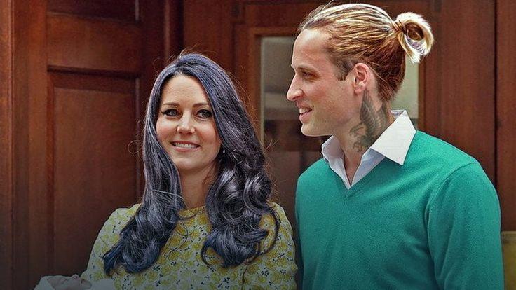 Książę William i księżna Kate w hipsterskim wydaniu
