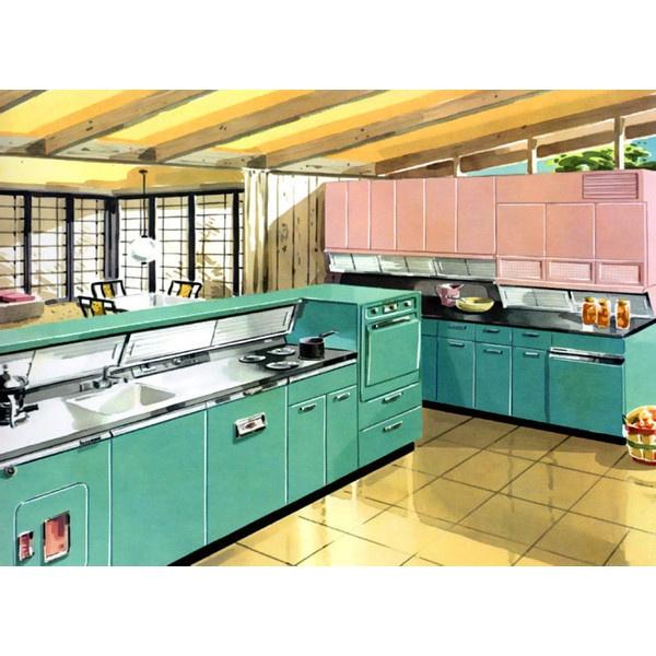 Retro Kitchen Curtains 1950s: Best 25+ 1950s Decor Ideas On Pinterest