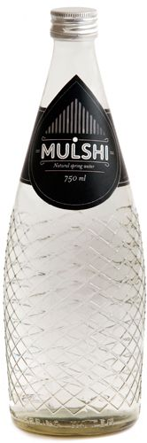 Mulshi Springs Bottled Water ~ such beautiful shape and line