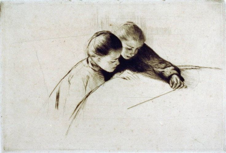 "Mary Cassatt, ""The Map"""