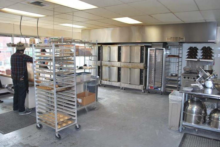 What does a commercial kitchen look like?