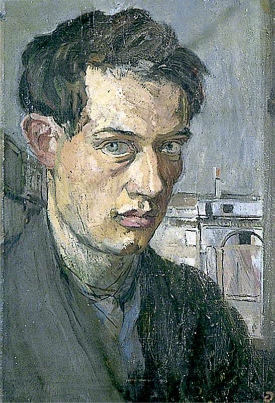 Self-Portrait, ca. 1910, by Duncan Grant (1885-1978)