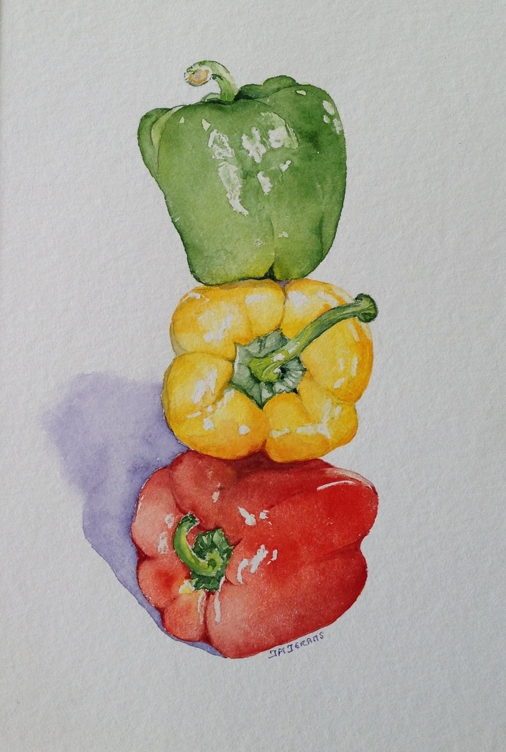 sparkling Peppers, by Judith Jerams, France