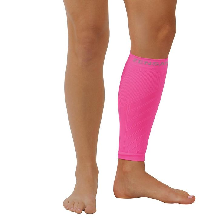 Zensah Shin and Calf Support is the first to provide pin-point compression that stabilizes your calf and shin muscles to support existing injuries or prevent further injury