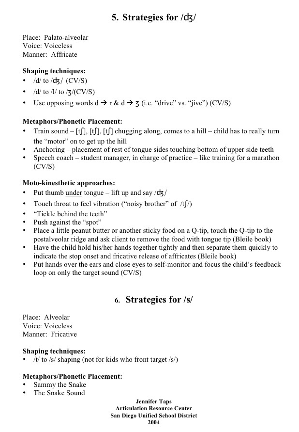 486 best Speech\/Articulation images on Pinterest Articulation - speech language pathology resume