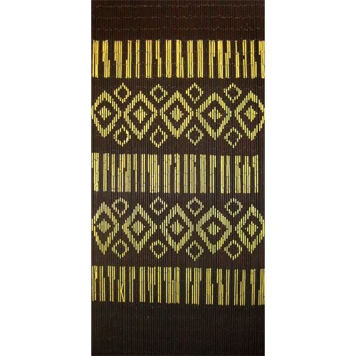 Buy the Aztec Motif Beaded Door Curtain online, with a geometric Inca inspired design. Great value, best prices.