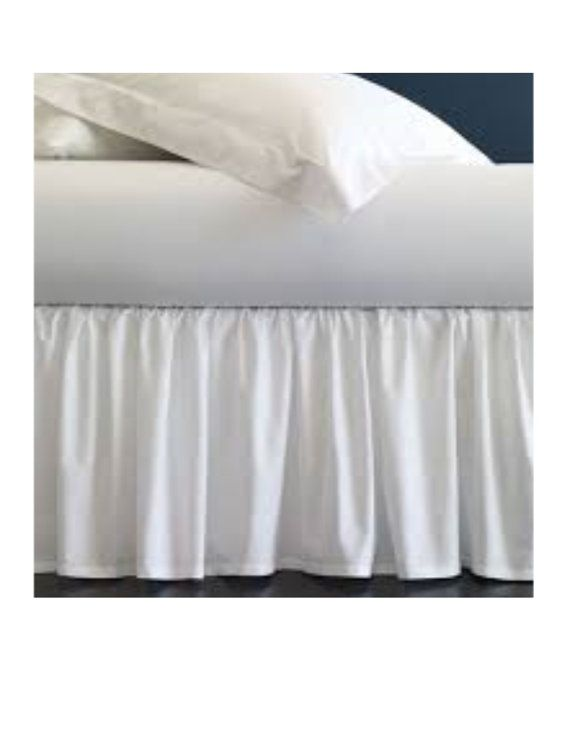 The 36 Long, Single Sided XL Twin Bed Skirt Will Add the Final Touch to your Dorm Room Décor! Not only will it stylize your Dorm Room, but the