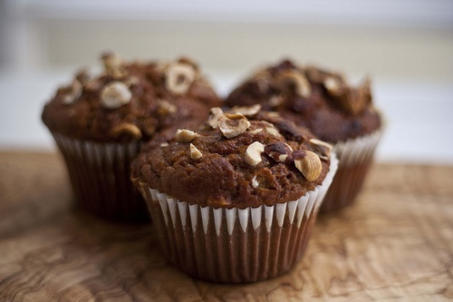 spiced sweet potato, hazelnut, and yogurt muffins. | I will I will ...