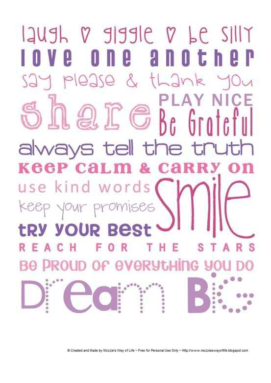 smile: Wall Art, Wall Decor, Dreams Big, Happy Quotes, Little Girls Rooms, Inspiration Quotes Children, Baby Rooms, Houses Rules, Kids Rooms