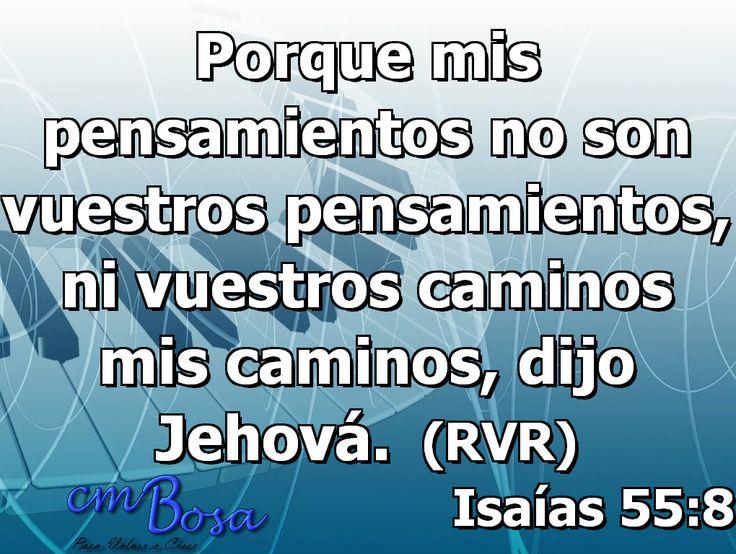 #Labiblia Isaias 55:8