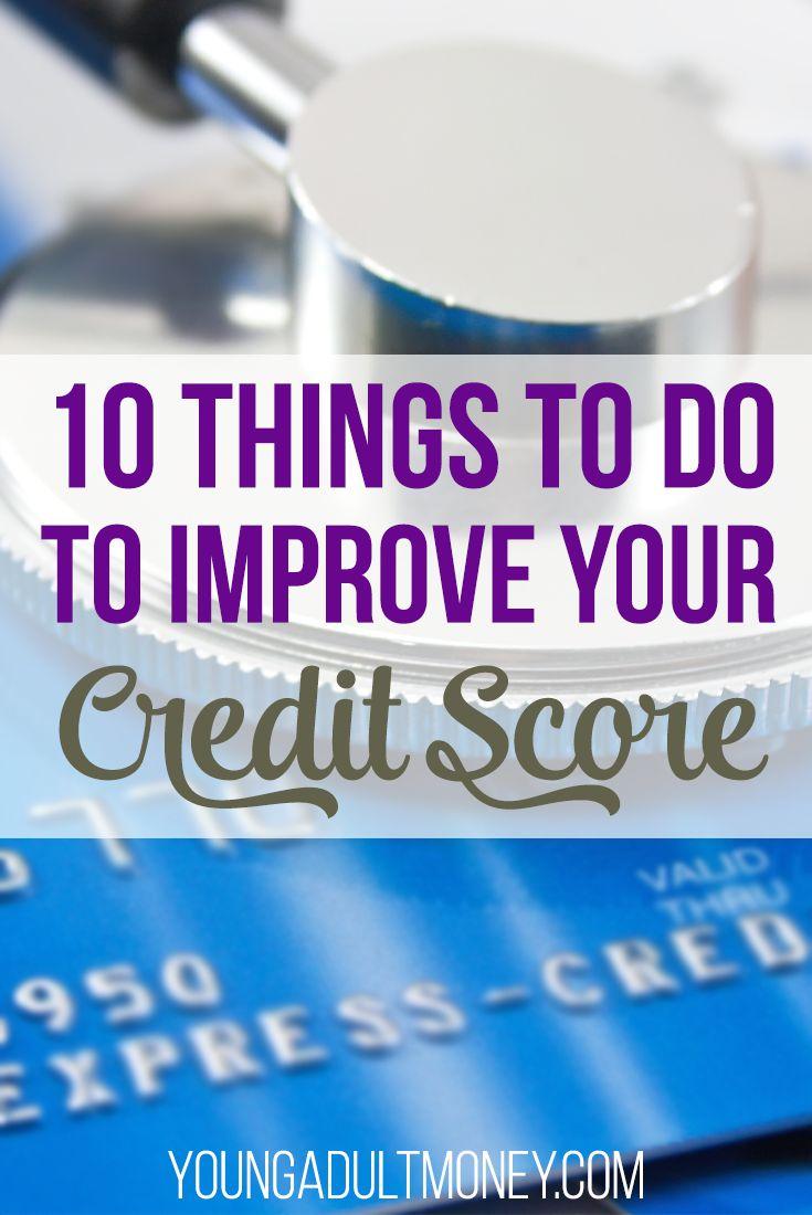 #improve #things #credit #credit #credit #quick