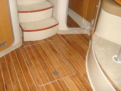 teak & holly interior marine flooring