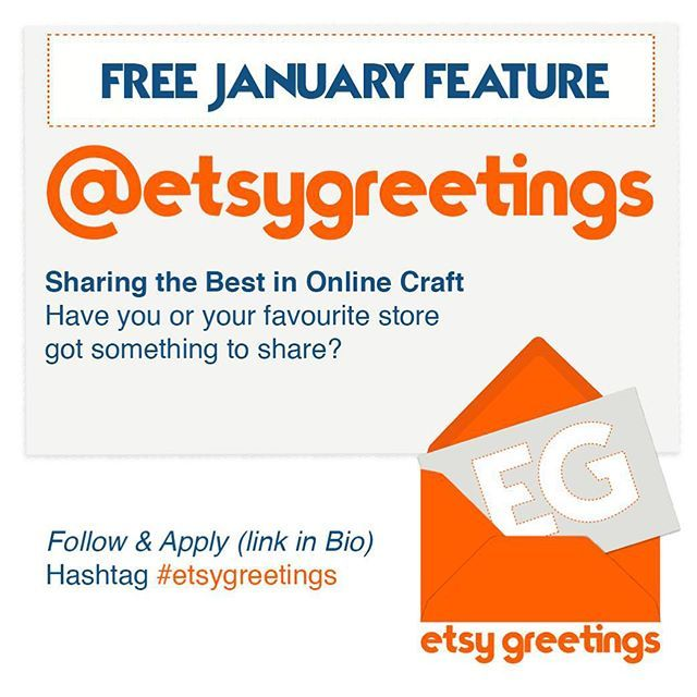 Free Feature www.instragram.com/etsygreetings