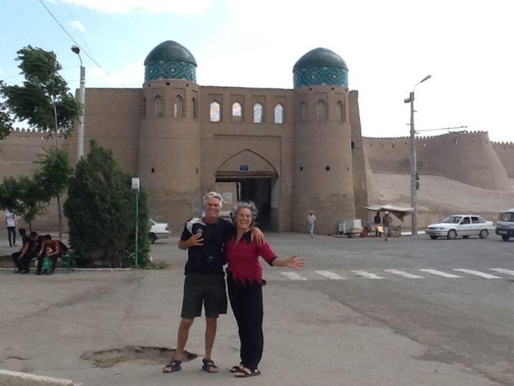Uzbekistan+2:+Khiva+Walled+City+of+Clay+on+the+Silk+Road