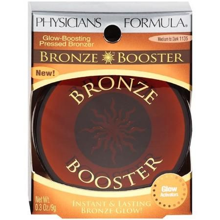 Physicians Formula Bronze Booster Glow-Boosting Pressed Bronzer, Medium to Dark 1135 - Walmart.com