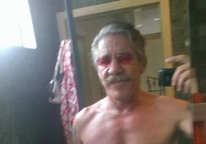 """Warning: Some things you can't unsee ... """"Geraldo Rivera posts nearly-nude selfie to Twitter: '70 is the new 50'"""" #epicfail"""