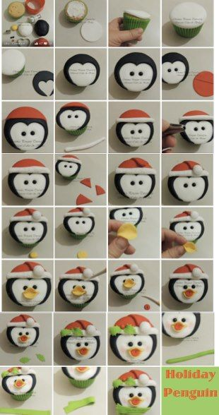 Polymer Clay Penquin Tutorial