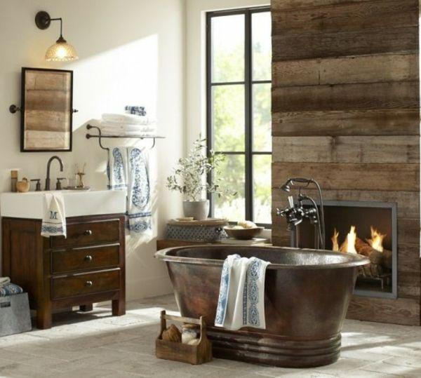 Die besten 25+ Badezimmer Holzwand Ideen auf Pinterest Holzwand - badezimmer holzwand bilder