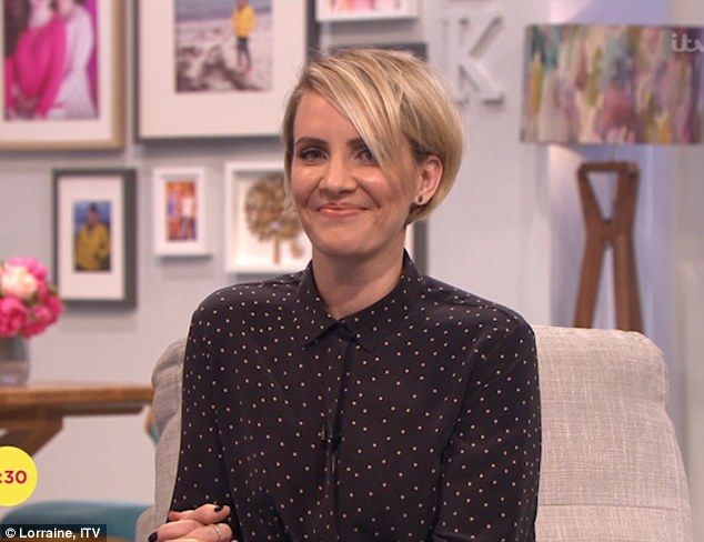 Claire Richards haircut.