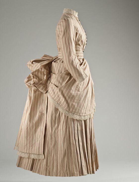 Woman's Tennis Dress England, circa 1885   LACMA Collections