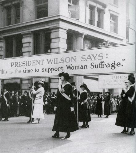 women gained the vote due to But women had not gained freedom and particularly of the ninth resolution — women demanding the vote– that the women's rights movement of the late.