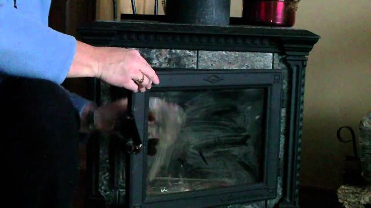 How To Clean Your Wood Stove Fireplace Glass This works