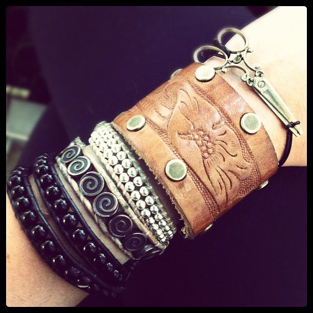Stacks on stacks: Bling, At Home, Fashion, Awesome, Cute Bracelets, Beauty Inspiration, Accessories, Hair