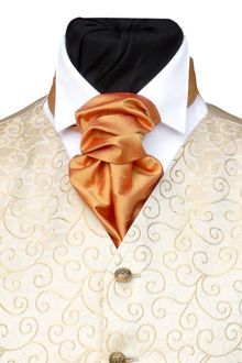 WWW.TOMSAWYERWAISTCOATS.CO.UK - Neckwear Wedding Outfits How to tie a Cravat Buy UK
