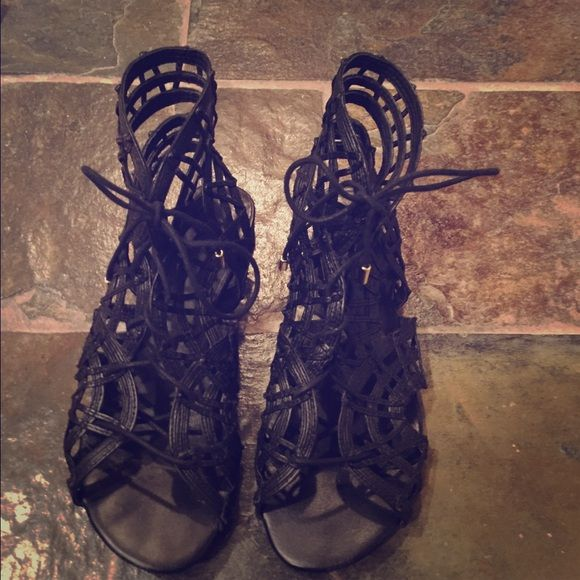 Joie Renee Gladiator Sandals Size 6 (36). Worn only a handful of times over a couple of months. Excellent condition. Comes with original Joie Shoe bag. Only selling because I had to buy a size 7. Retails for $350. Joie Shoes Sandals