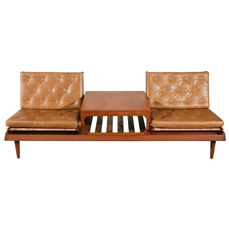 Rare Hans Olsen Modular Seating Group