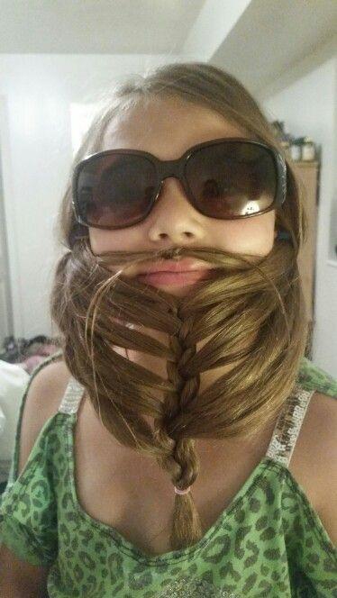 Mara's Crazy hair day!