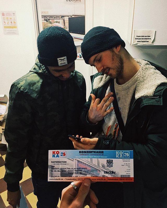 @rapkreation - record release 23.03.2018 @yaamofficial - save the date. Tickets: KOKA36 / #kreuzberg #rapkreation #release #iriedaily #staydifferent