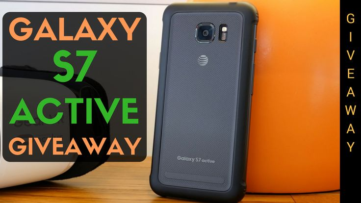 Enter to win a @Samsung Galaxy S7 Active from @AndruEdwards…