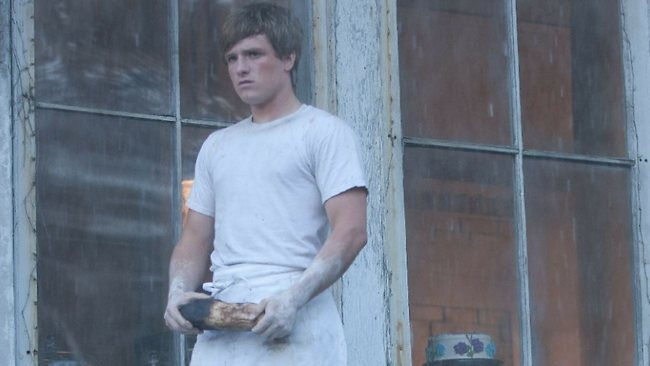 The giver of bread, Peeta, Hunger Games