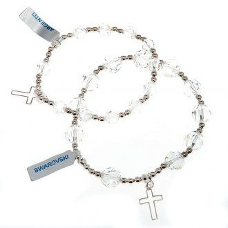 Bracciale argento braccialetto swarovski bracciale | vendita online su HOLYART