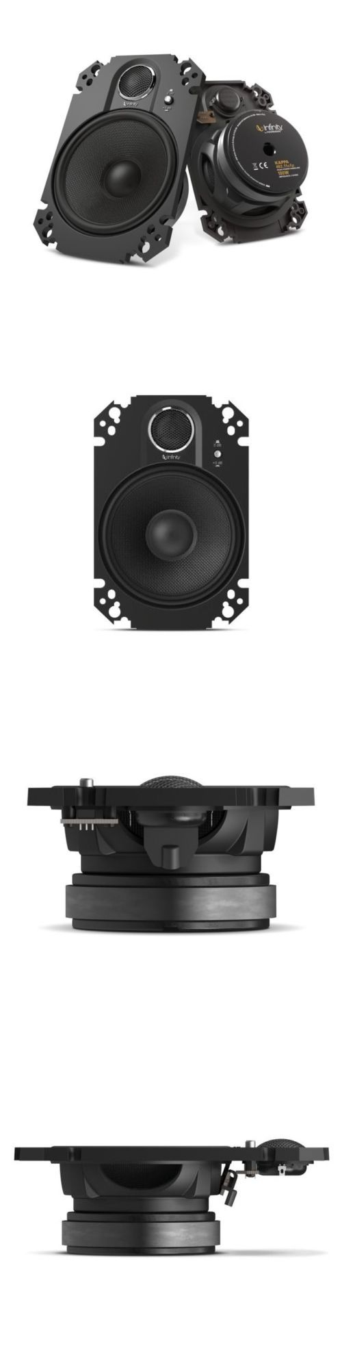 Car Speakers and Speaker Systems: Infinity Kappa 462.11Cfp 4 X 6 2-Way Coaxial Car Speakers New Pair Kappa 46211 BUY IT NOW ONLY: $92.51