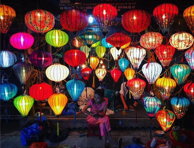 """@live_life_love_travel on Instagram: """"Lantern stall at Hoi An's night market."""""""