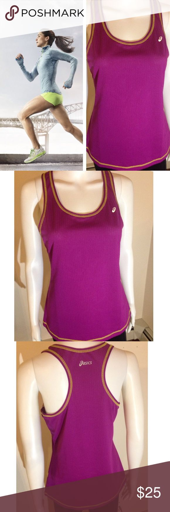 💥FLASH-SALE💥❤️❌ Asics Purple Tank Top Medium Asics Purple Tank Top Racer Back work out tank Keywords: womens faschion, women fashion, vintage, retro, free-spirited, ready-to-go outfits, off-the-shoulder, flower child style, fashion clothing, beauty, career, colors, patterns, party, sexy, cocktail, evening, formal, pageant, bridesmaid, wedding, new, summer sandal, beach, resort, vacation, teens, adults, woman, pretty girl, in style, trends, season runway show Asics Tops Tank Tops
