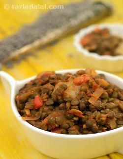Lentils are an indispensable part of Punjabi cuisine. This spicy Masoor dal preparation will not fail to tingle your taste buds.