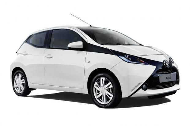 Toyota Aygo city car