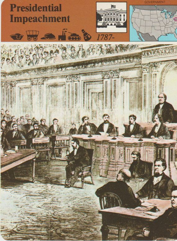 Presidential Impeachment Vintage Fact And by vintagepostexchange