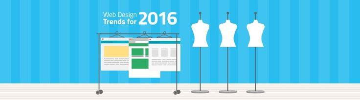 Web Design Trends For 2016