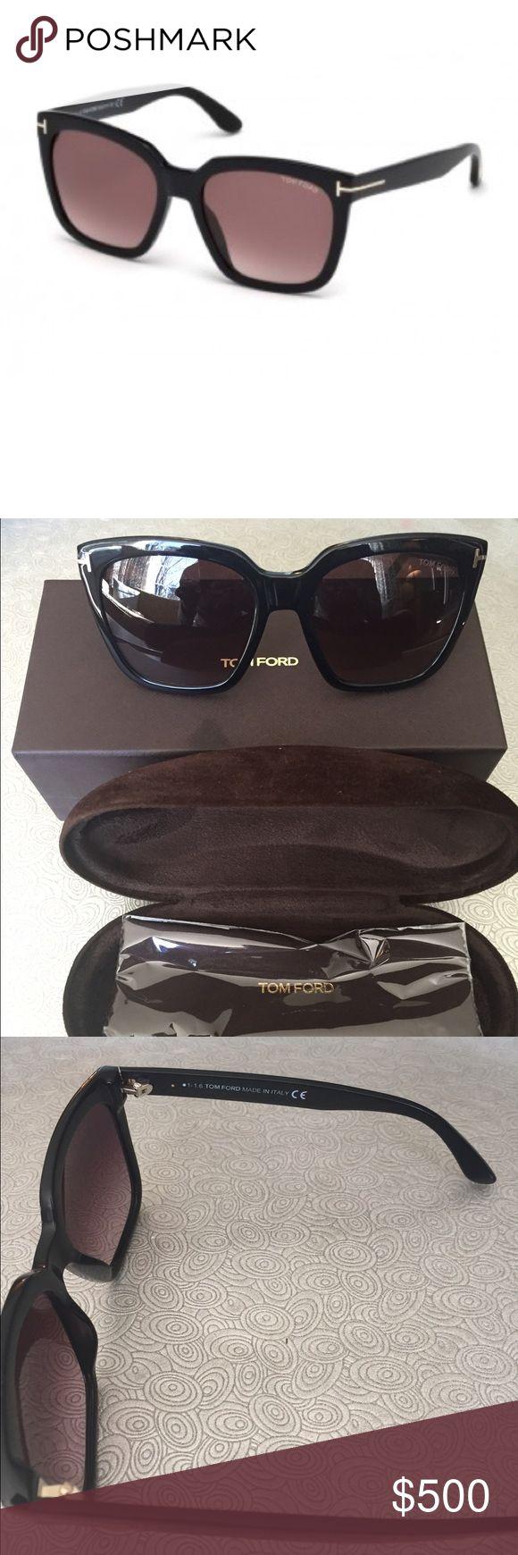Authentic Tom Ford Sunglasses TOM FORD AMARA!  Specifics: 100% UV PROTECTION. Original DESIGNER CASE & CLOTHFREE UK DELIVERY Height49 BrandTom Ford Bridge18 Frame Color: Black GenderWomens Sunglasses ShapeRectangle Temple Length140 Lens: Rectangle Tom Ford Accessories Sunglasses