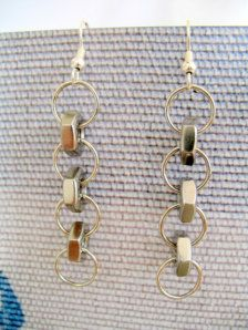 hex nuts and jump rings Jewelry - Etsy
