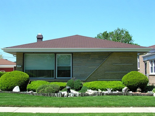 midcentury landscaping
